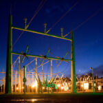Commercial Street Light Pole Installation: KB Electric LLC